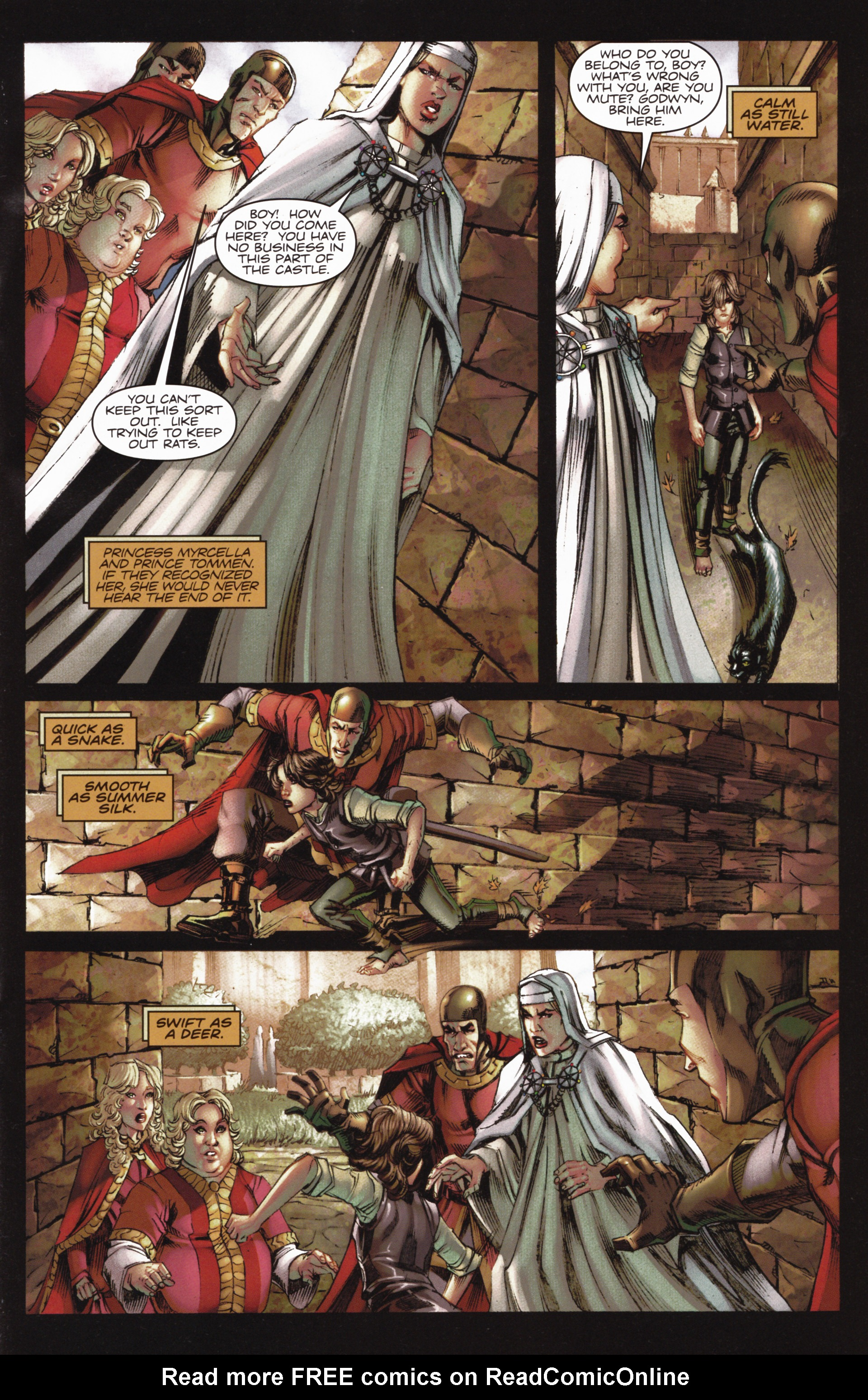 Read online A Game Of Thrones comic -  Issue #10 - 15