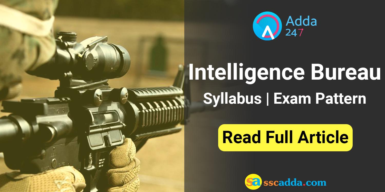 essay on intelligence bureau