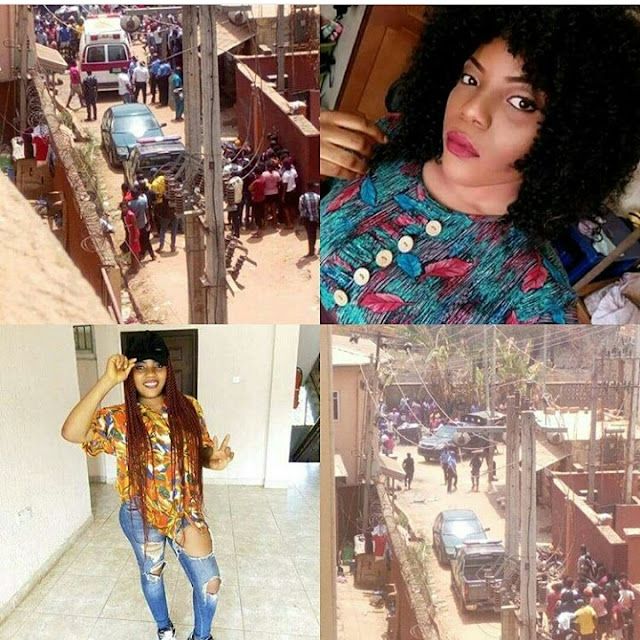 """Final Year Female Student of Unizik Awka, allegedly died in """"Aboki's"""" Room After..."""