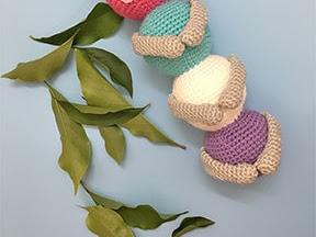 The Cuddly Caterpillar - A Free Amigurumi Crochet Pattern
