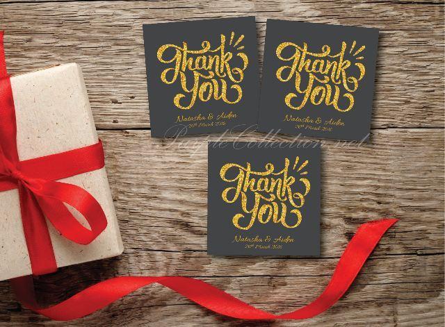 sticker label print for door gift wedding favour, malaysia, kuala lumpur, selangor, singapore, penang, ipoh, perak, melaka, johor bahru, sarawak, sabah, brunei, miri, kuching, kota kinabalu, seremban, wedding card, invitation card, party pack, backdrop, printable, free, online order, express, gold lettering, glitter