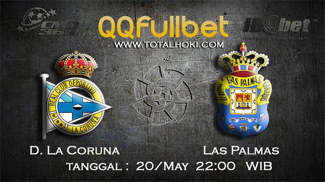 PREDIKSIBOLA - PREDIKSI TARUHAN D.LA CORUNA VS LAS PALMAS 20 MAY 2017 (LA LIGA SPANYOL)