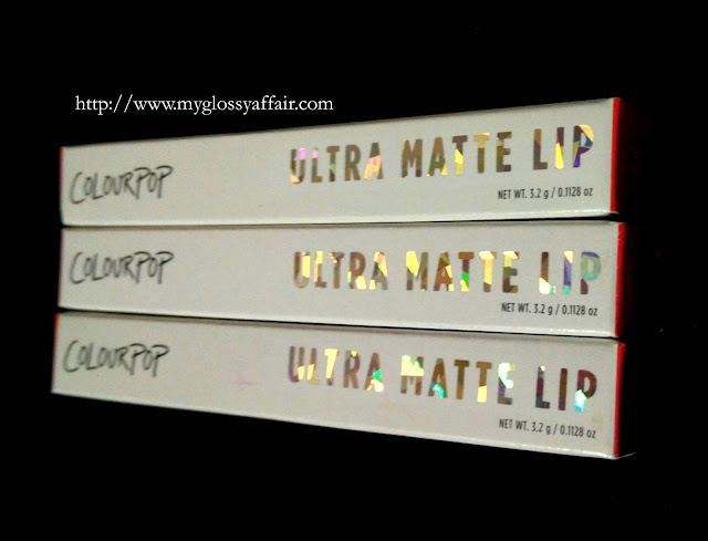 Colorpop Ultra Matte Liquid Lipsticks in Solow, Succulent and More Better Review and Swatches