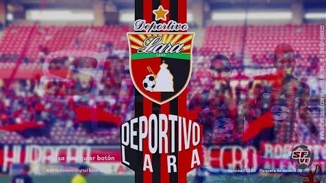 PES 2017 Start Screen del Deportivo Lara (Venezuela) By sudamericanpatchoficial