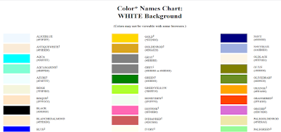 HTML Code Color