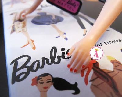 Репродукция куклы Барби 1959 года