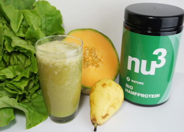 """""""Superfood"""" von nu3 - inkl. Rezepte für Snacks zwischendurch Birnen-Melonen-Salat-Smoothie"""