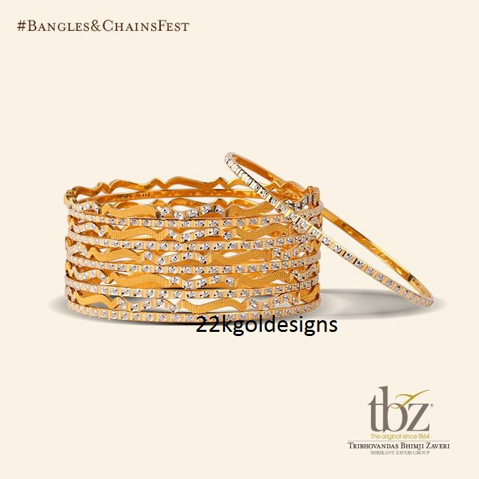 Rhodium Bangles Archives - Page 2 of 2 - 22kGoldDesigns