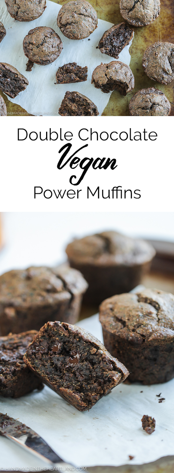 vegan double chocolate muffin recipe