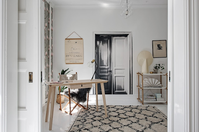 Accente subtile de maro în decorul interior al unui apartament de 79 m²