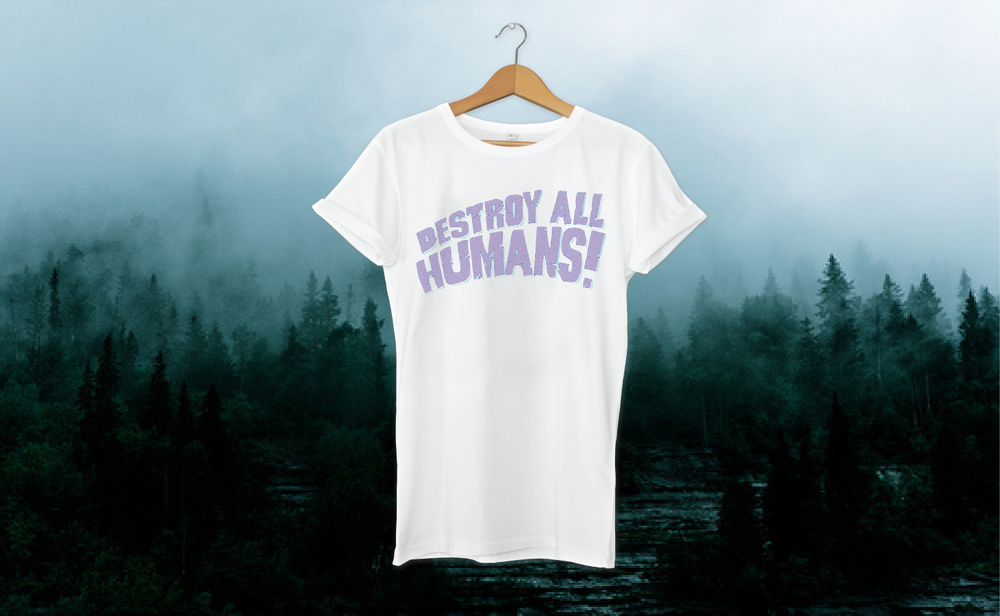 Destroy All Humans Bark tshirt