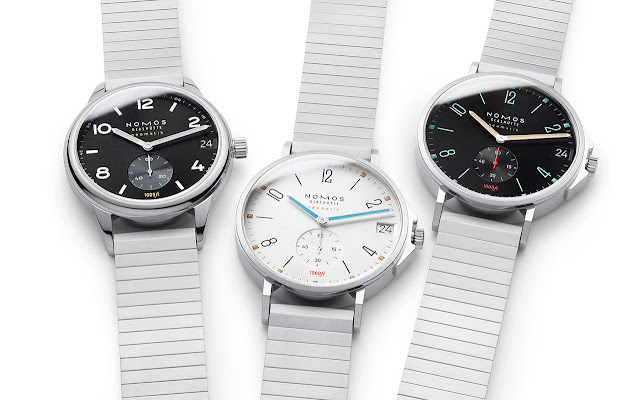 Nomos Glashütte Tangente Sport and Club Sport