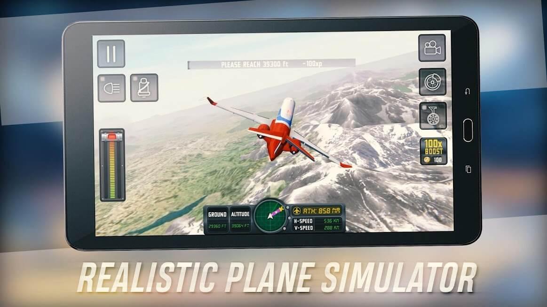 Flight Sim 2018 v 3.1.2 apk mod DINHEIRO INFINITO