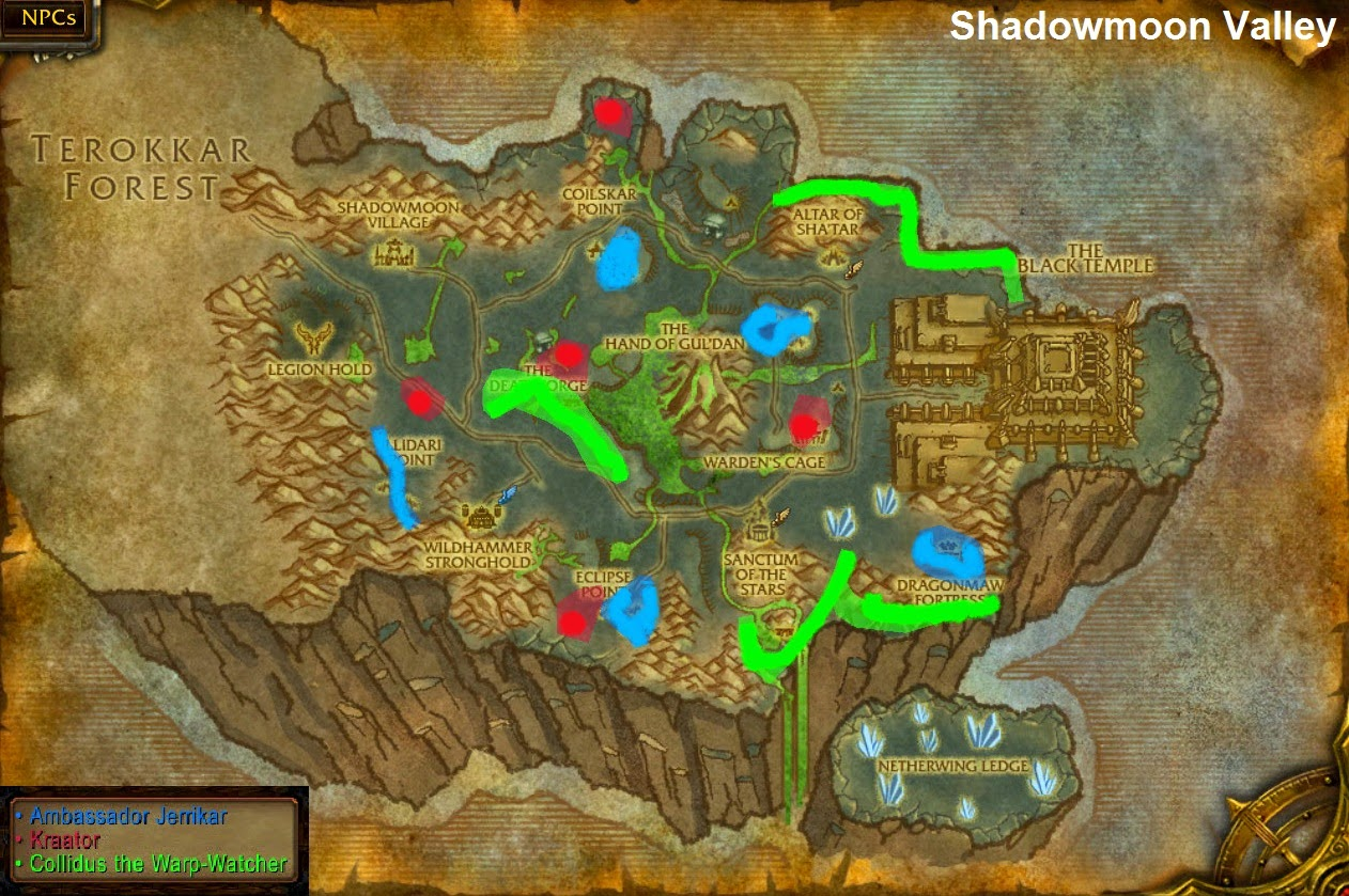 Master Of World Of Warcraft Treasure Rare Spawn Locations In Wod