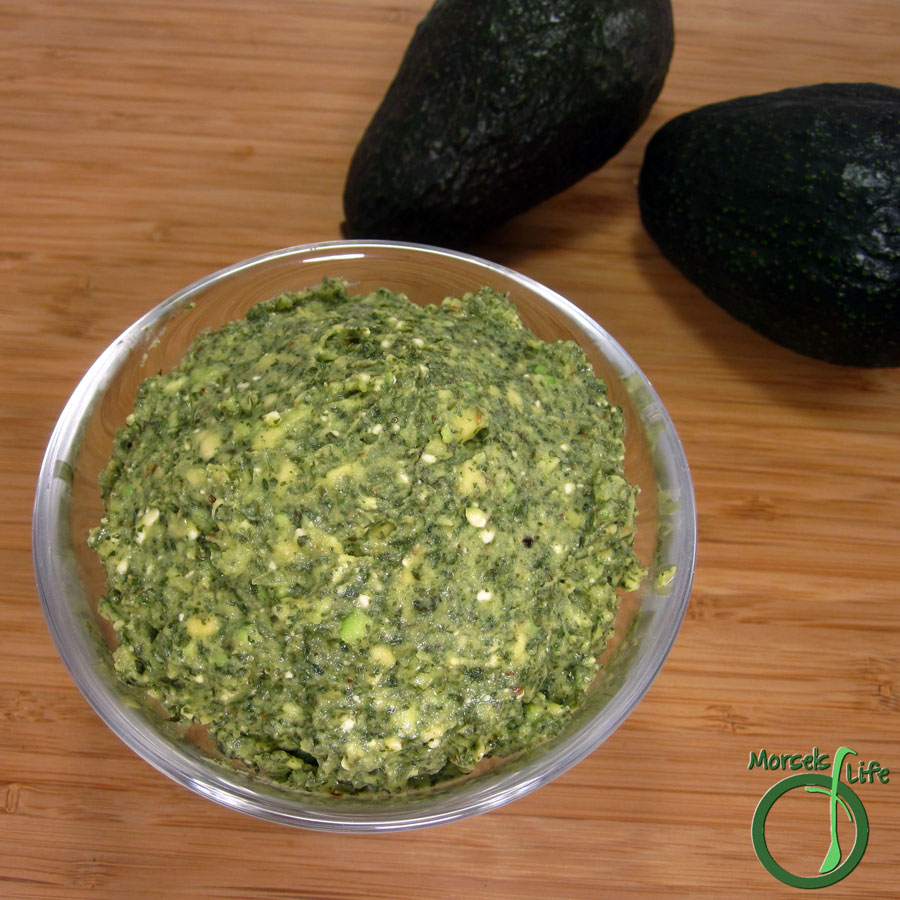 Morsels of Life - Feta Avocado Dip - Try this feta avocado dip - creamy and spicy with just the slightest tang.