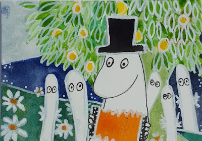 Whoopidooings: Carmen Wing - Tove Jansson Moomins inspired ATC