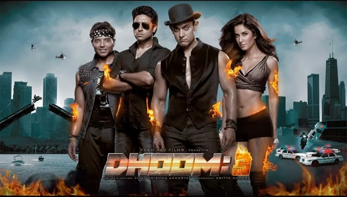 Dhoom 3 (2012) Movie Mp3 Songs Free Download | SONGSMAZA