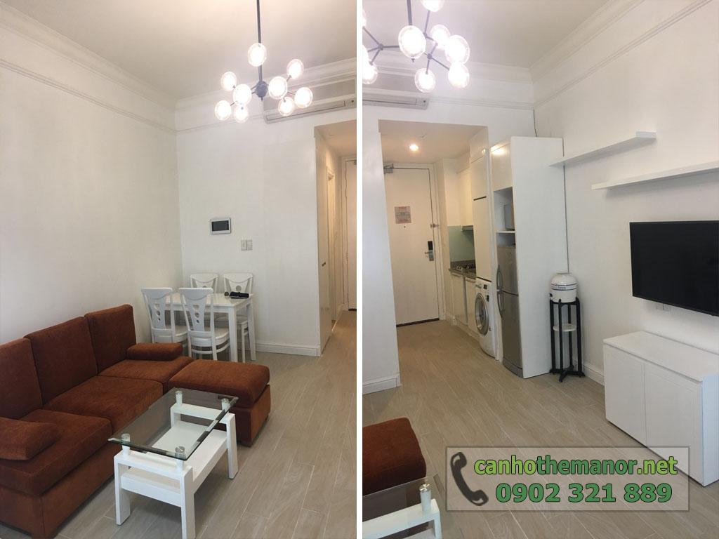Cho thuê The Manor căn hộ 1PN block G tầng trung giá chỉ $650 - hình 2