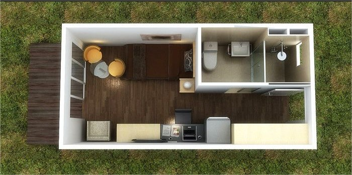 40 Foot Container Home Plans Container Home
