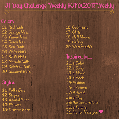 #31DC2017Weekly