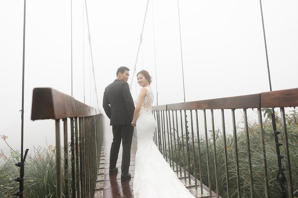 自助婚紗 | 婚紗 | 自主婚紗 | 台北婚紗 | 冷水坑吊橋 | 生態池 | 龍鳳谷 |