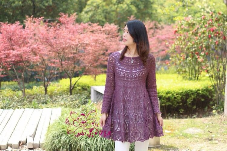 Patrón: Vestido a Crochet Puedes mirar todos los modelos. ~ Moda a ...