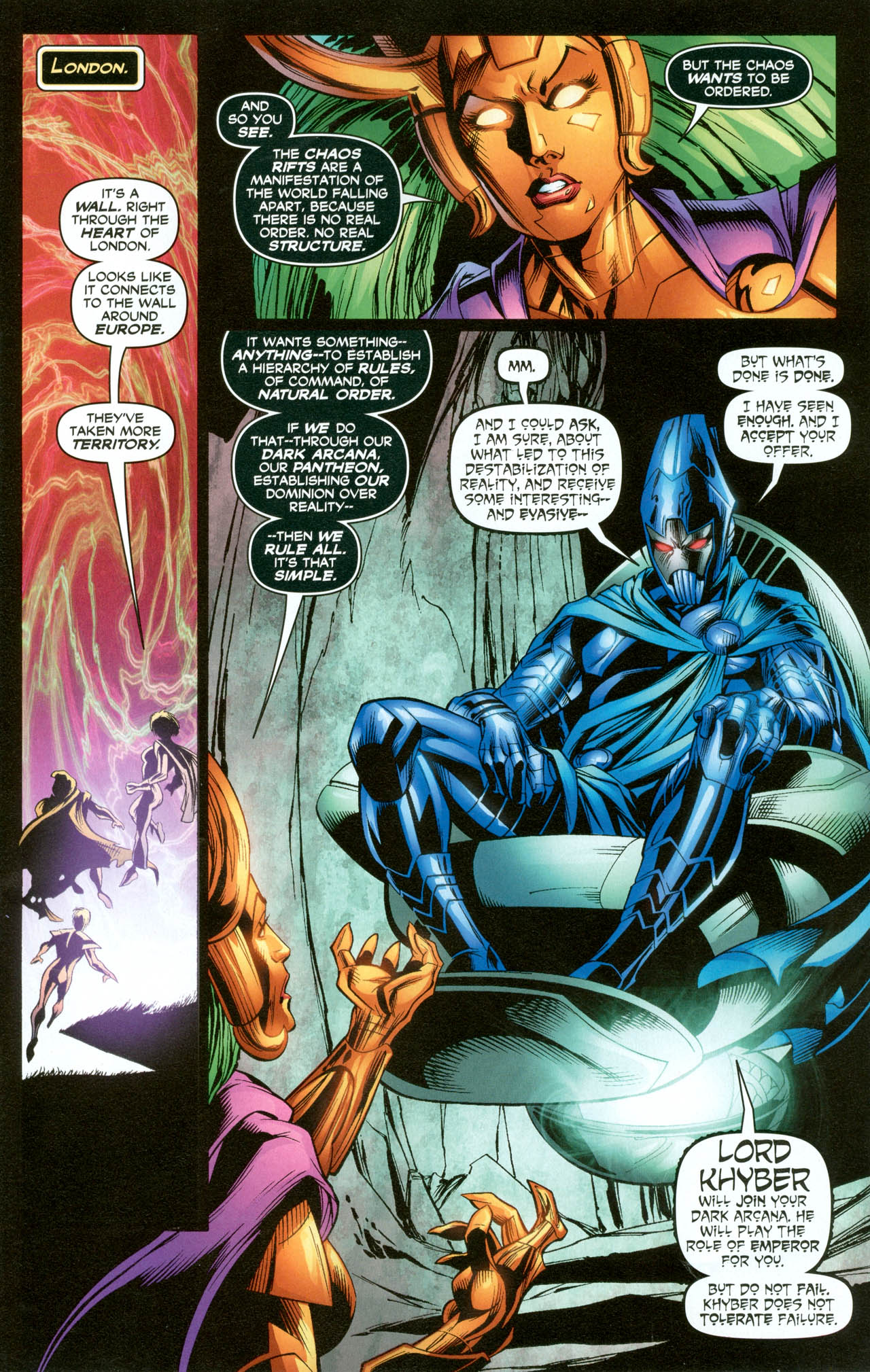 Read online Trinity (2008) comic -  Issue #31 - 16