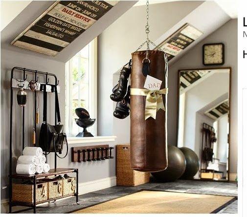 33 Inspiring Industrial Style Home Offices That Sport: Depósito Santa Mariah: Academia Em Casa
