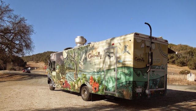 The Most Colorful Catering Truck I've Ever Seen