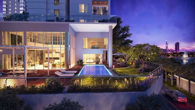 Sunshine Diamond In Golf Sky Villas Ciputra có tầm nhìn đắt giá