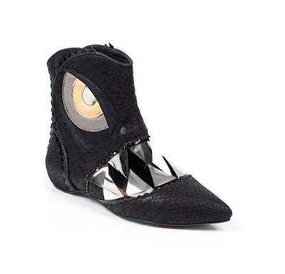 Irregular Choice Scylla Monster Ankle Boots