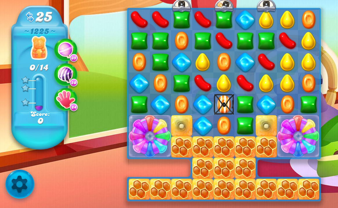 Candy Crush Soda Saga level 1225