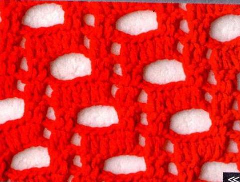 Patrón #1709: Punto Calado a Crochet