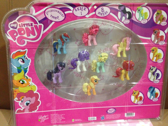 MLP Eraser Set with Sunset Shimmer Figures