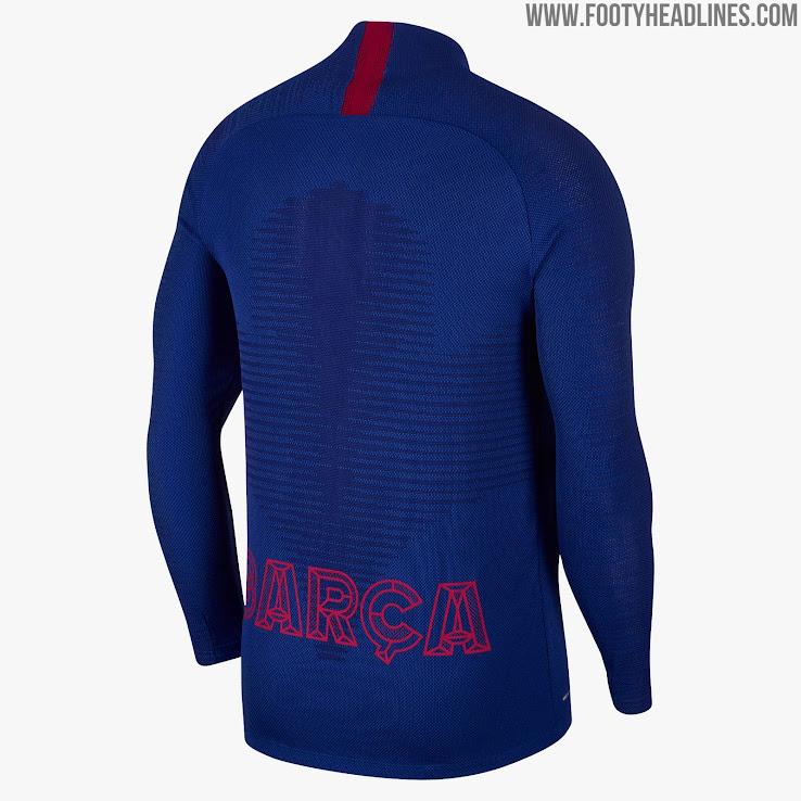 newest bc38e 8e8d4 Details: Nike FC Barcelona 19-20 Training Kits Released ...