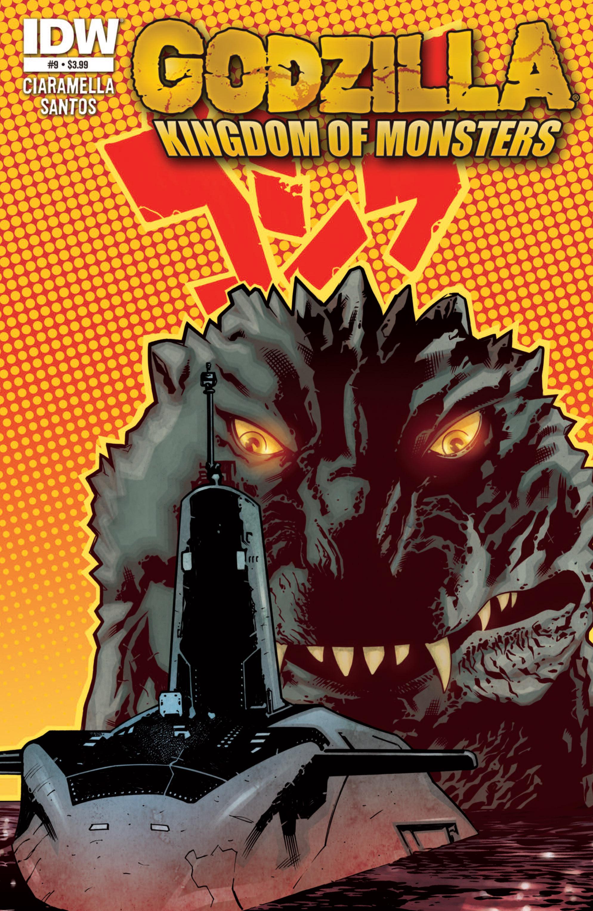 Godzilla: Kingdom of Monsters 9 Page 1