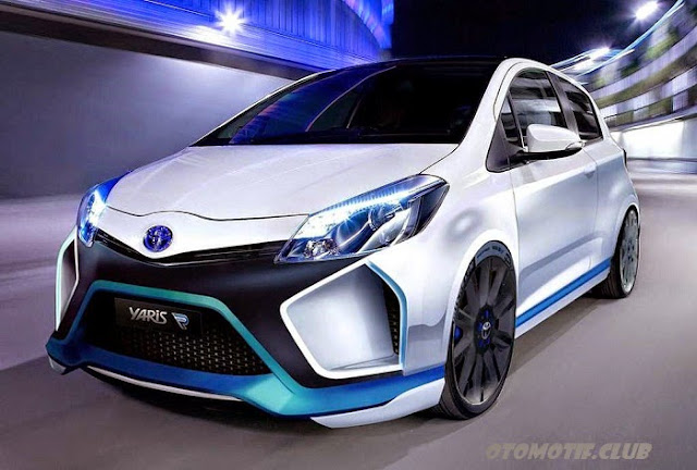 Futuristic Toyota All-New Yaris