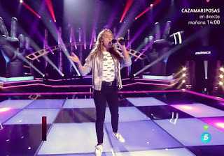 Mónica canta Who's Lovin You de los Jackson Five la voz kids