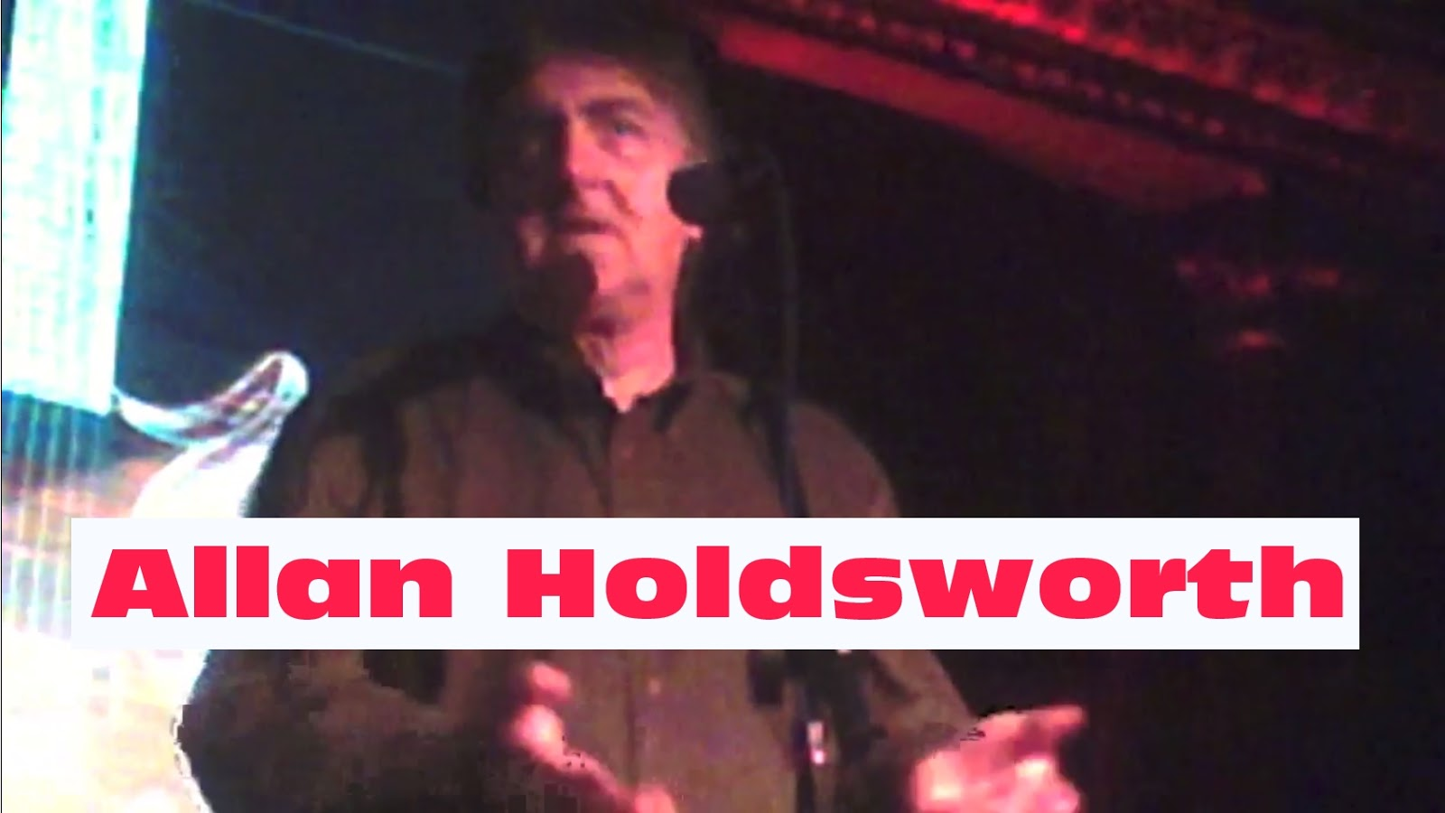 Allan Holdsworth Allan Holdsworth Cutting Room Nyc Series From The Meet