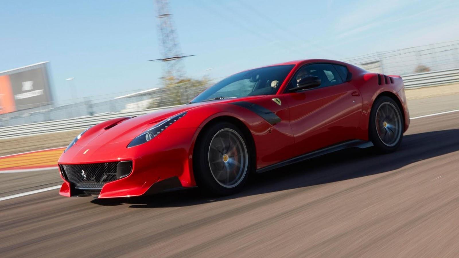 Ferrari F12tdf - 2,9 giây