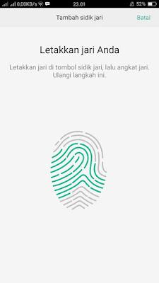 Cara Mengaktifkan Fitur Kunci Password dengan Sidik Jari di Android