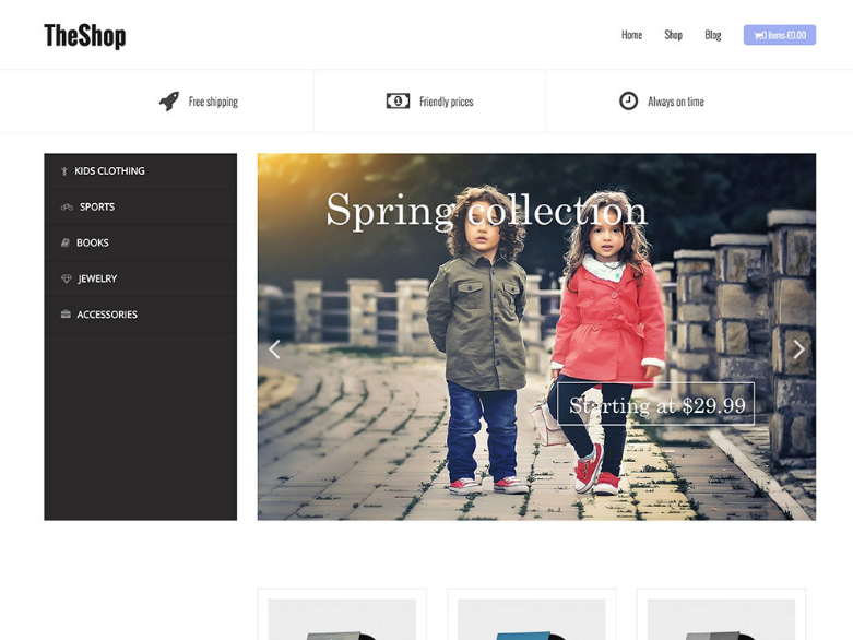 Best Wordpress Ecommerce Themes Free - Get any Template