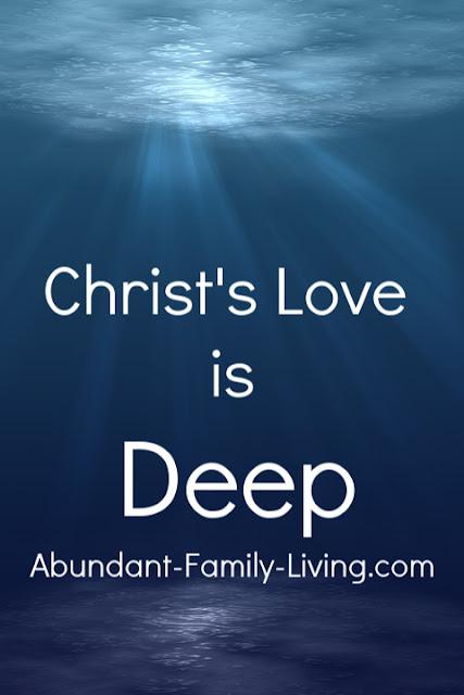 Christ's Love is Deep