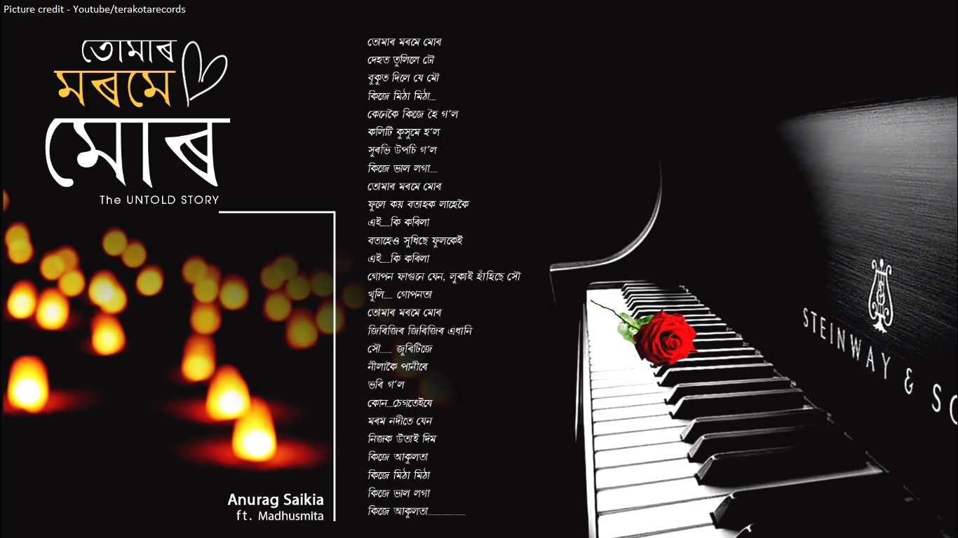 Jayanta Hazorika Tumar Morome Mur Full Lyrics With Easy Open Chords Free Printable Guitar Chord Chartright Click On Diagram And Select Assamese