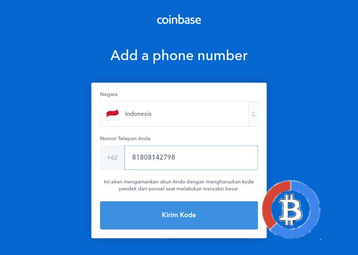 cara daftar coinbase