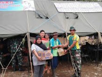 Kostrad Buka Posko Bencana Banjir Bandang di Garut