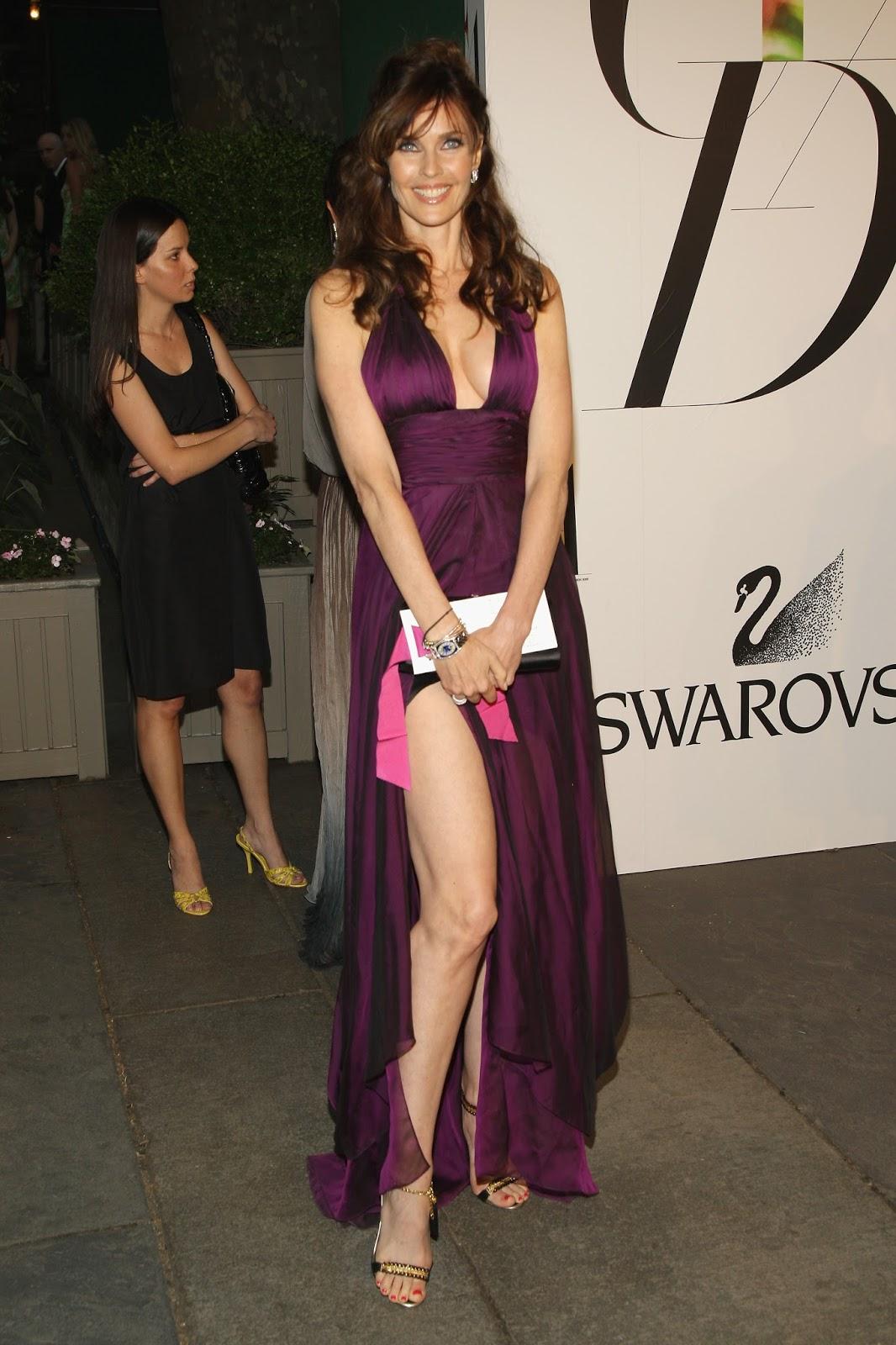 Carol Alt Hot Thighs Show Off at 2008 CFDA Fashion Awards ...