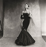 "Irving Penn: Centennial -""Rochas Mermaid Dress (Lisa Fonssagrives-Penn), Paris, 1950."" Penn married the model that year. Credit Irving Penn, Condé Nast and Metropolitan Museum of Art"
