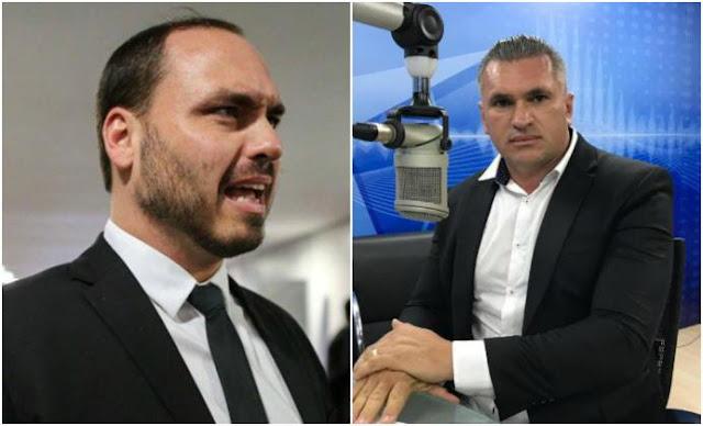Após discussão com Julian, filho de Bolsonaro publica: 'os falsos não duram'