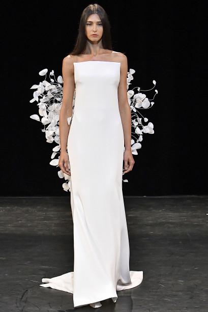 vestidos minimalistas noivas 2018